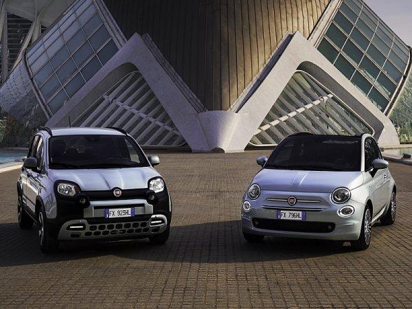 Fiat představil hybridní 500 a Pandu