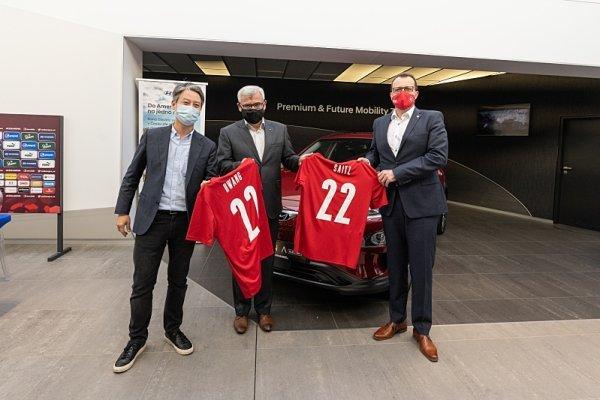 Hyundai zůstává s českou fotbalovou reprezentací