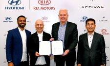 Kia a Hyundai investují do elektromobility
