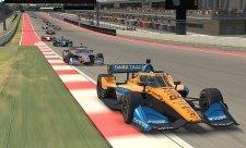 Norrisův Spin & Win při premiéře v IndyCar
