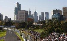 Australské sluníčko zahájení šampionátu svědčí