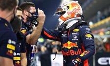 Verstappenovi na vítězství nezáleží