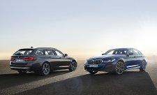 Osvícené nové pětkové BMW