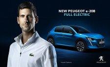 Djokovič v reklamě Peugeotu