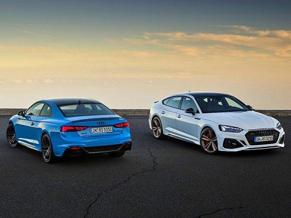 Modernizované Audi RS 5 Coupé a RS 5 Sportback