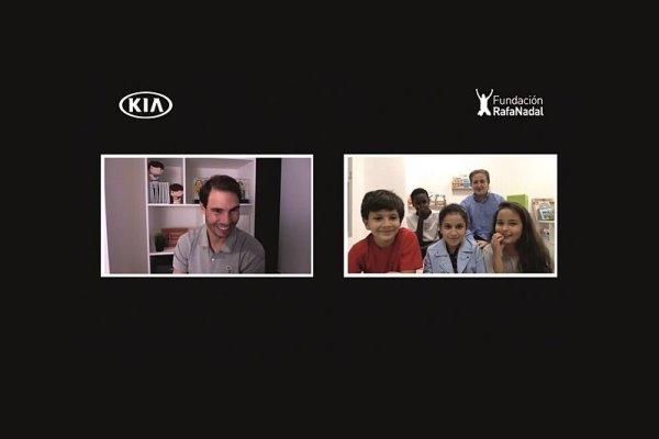 Kia spojila Nadala s jeho malými fanoušky