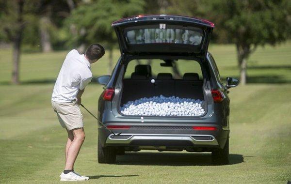 Kufr pro 8500 golfových míčků