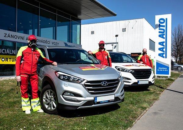 AAA Auto podpořilo Czech SAR Team