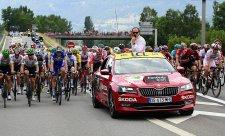 Škoda doprovodí Tour de France