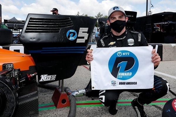 O´Ward získal první pole position pro McLaren