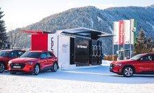 Audi v Davosu poskytlo trvale udržitelnou mobilitu