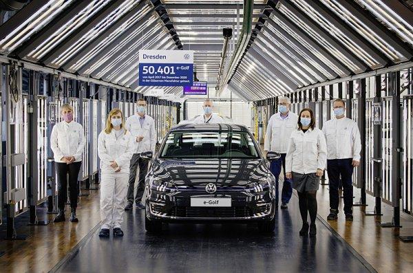 Výroba Volkswagenu e-Golf definitivně skončila