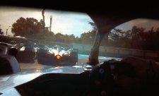 Formule E nabízí záběry z jezdcovy přilby