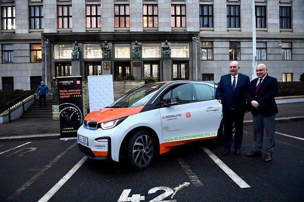 Na zemědělství využijí elektromobil BMW