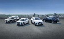 Lexus prodal v Evropě čtvrt milionu hybridních SUV