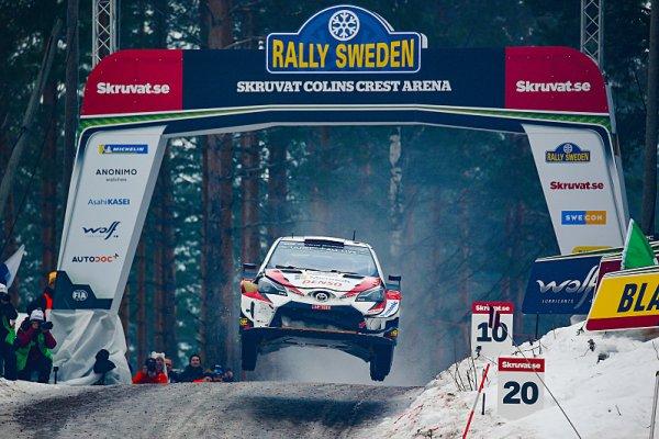 O víkendu se jede Švédská rallye