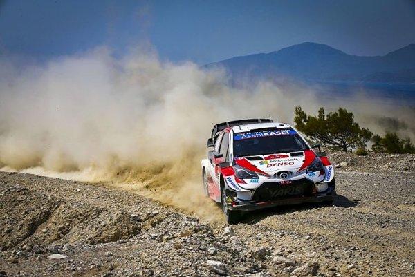 Toyota bude na Sardinii obhajovat vedoucí pozice