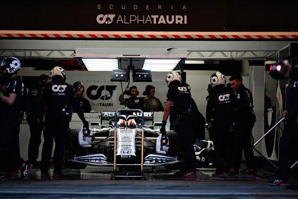 AlphaTauri míří do aerodynamického tunelu Red Bullu