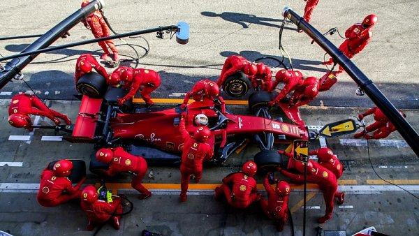 Ferrari přistoupilo k restrukturalizaci