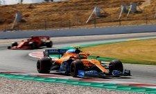McLaren se rozhoupal nejdříve