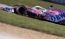 Racing Point se sveze s aktuálním autem