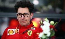 Binotto již není technickým ředitelem Ferrari