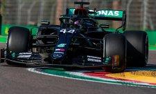 Nezvyklý přípravný sprint nejvíce seděl Hamiltonovi