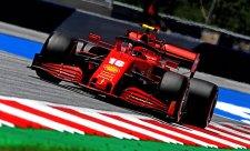 Všechny týmy s motorem Ferrari zpomalily