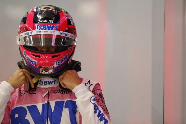 Pérezova účast v Silverstone je ohrožena