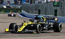Ricciarda překvapila chladnější trať