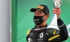 Ricciardo se zapomněl napít z boty