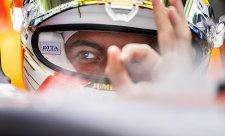 Verstappen vítá Péreze