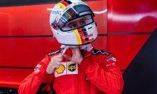 Ricciardo touží po Vettelově přilbě