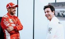Wolff teď nespustí z Vettela zrak