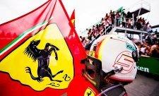 Vettel si nedal sáhnout na plat