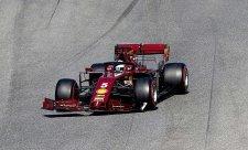 Vettel byl pomalejší než Williams