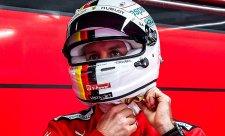 Vettel se pral s přetáčivým autem