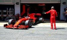 Rozzuřený Vettel – jeden hot, druhý čehý?