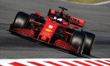 Vettel první, Hamilton poslední