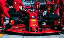 Vettel šel moc přes závit