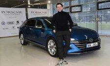 Hejlík je ambasadorem Volkswagenu pro Českou republiku