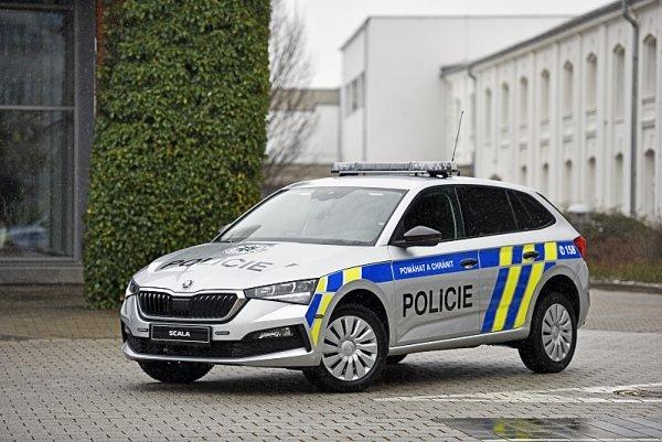 Česká policie vsadila na Škodu Scala