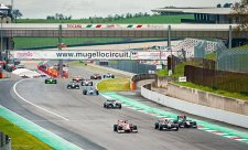 Leclerkův mistrovský monopost a Toro Rosso zvítězily v Mugellu