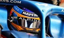 Podle Alonsa musí Alpine zlepšit aerodynamiku
