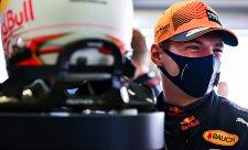 Mokrá generálka před kvalifikací patřila Verstappenovi
