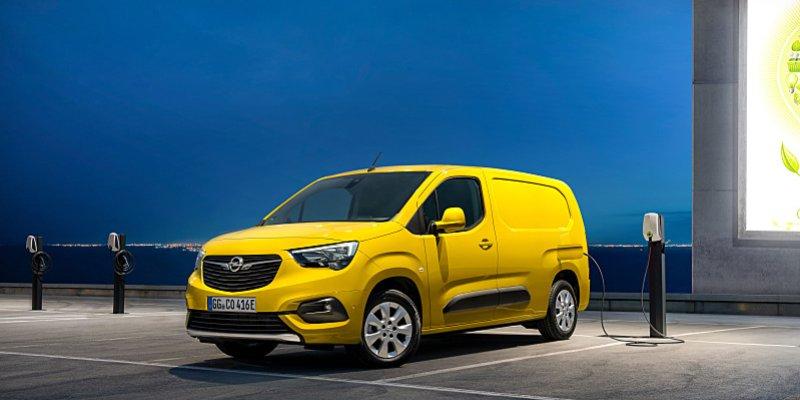 Opel Combo-e jezdí jenom na elektřinu