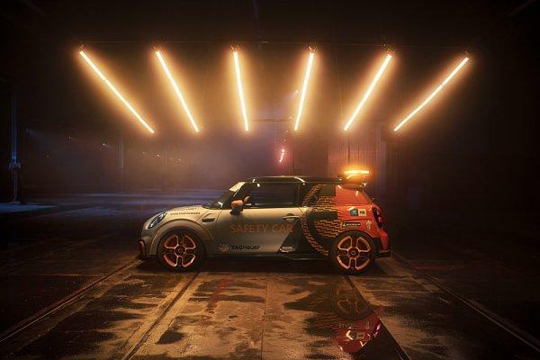 Elektrické MINI pojede jako safety car