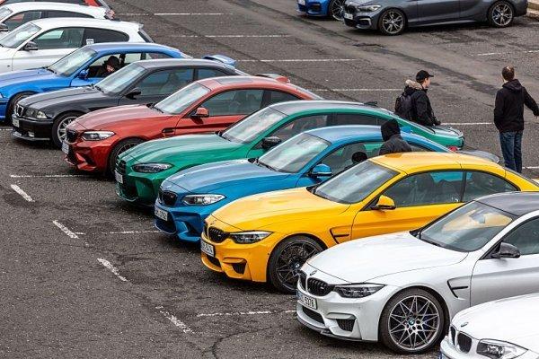 Tradiční setkání majitelů vozů BMW M se vydařilo