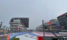 Poslední trénink před kvalifikací byl zrušen kvůli dešti