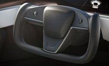 Upustí Tesla od futuristického volantu u modelů S a X?